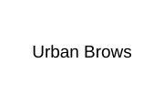Urban Brows logo